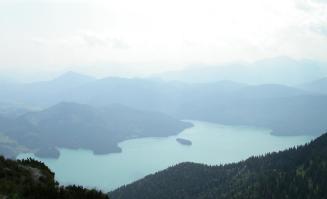Gar nicht so einfach, den See in seiner ganzen Größe zu erfassen