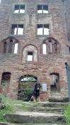 Alte Burgfassade