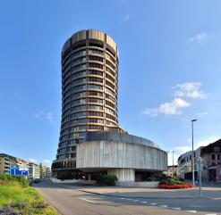 Gebäude der Bank für internationalen Zahlungsverkehr