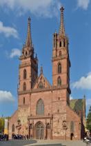 Basler-Münster, Westfassade