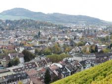Blick vom Schlossberg auf die Neustadt
