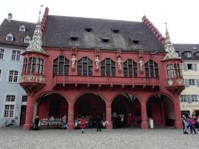 Das historische Kaufhaus am Münsterplatz