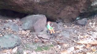 Ein Knet-Männlein sitzt im Walde