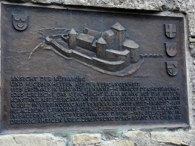 Abbild der historischen Burganlage