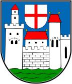 Das Wappen von Saarburg