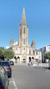 Die Kirche St. Ludwig am großen Markt