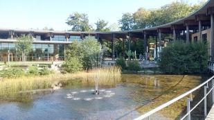 Das Besucherzentrum an der Cloef