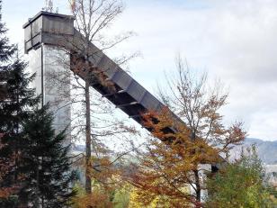 Die Adlerschanze – eine bekannte Skisprunganlage von Hinterzarten