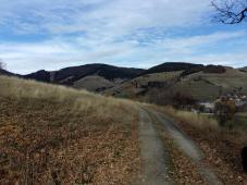 Beim Rückweg vom Blößling, kurz vor Bernau-Dorf