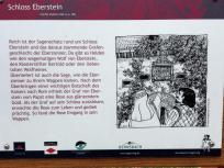 Infotafel zum Schloss Eberstein