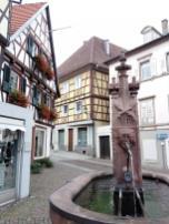 Brunnen in der Altstadt von Gernsbach