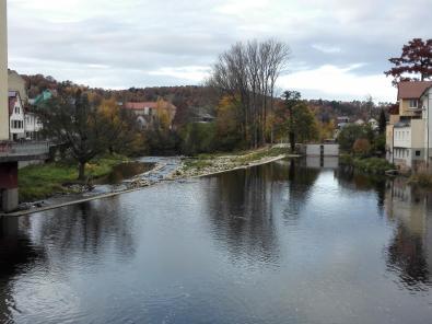 Die Murg in Gernsbach