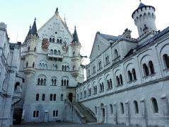 Innenhof von Schloss Neuschwanstein