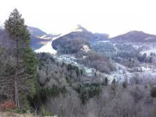 Blick von Neuschwanstein zum Albsee und zum Schloss Hohenschwangau
