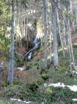 Wasserfall beim Abstieg nach Immenstadt