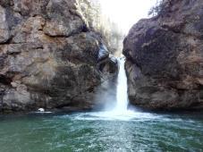 Die untere Stufe der Buchenegger Wasserfälle