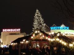 Weihnachtsmarkt vor dem Münster