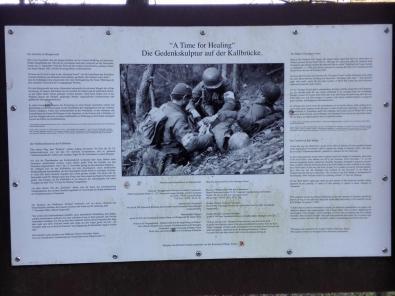 Erinnerung an die Schlacht im Hürtgenwald