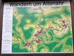 Infotafel bei Altenahr