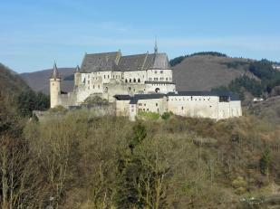 Die Burg von Vianden