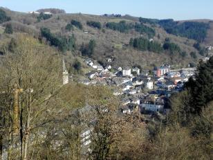 Das Dorf Vianden
