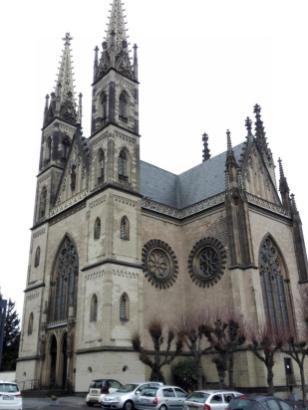 Die Apollinariskirche - hier ruhen seit 1164 die Reliquien des heiligen Apollinaris