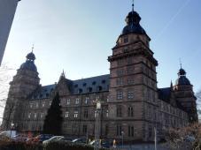 Ostseite der Johannisburg