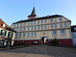 Das historische Rathaus von Bad König