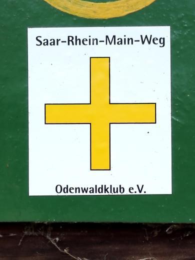 Wir folgen über weite Strecken dem Saar-Rhein-Main-Weg