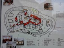 Übersichtskarte der Burg Breuneberg