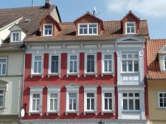 Hübsches Haus in der Fußgängerzone