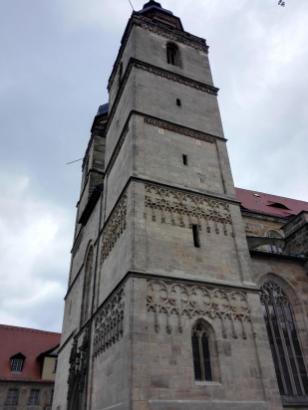 Stadtkirche Heilig Dreifaltigkeit mit zwei 50 Meter hohen Türmen