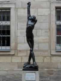 Skulptur am Kunstmuseum