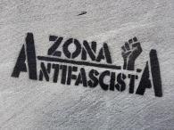 Antifaschisten in der Stadt