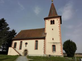 Die Kirche von Großbirkach