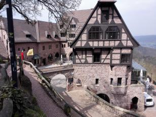 Gaststätte unterhalb der Burg