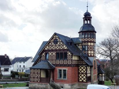 Das Herzogliche Forsthaus in Heldburg, heute Dienstsitz des Forstamtes Heldburg