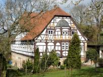 Schönes Fachwerkhaus gegenüber des alten Forsthauses