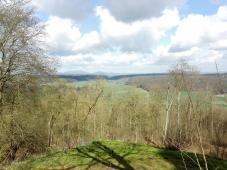Blick von der Veste Heldburg über das Heldburger Land
