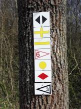 Hier kommen viele Wanderwege zusammen