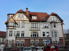 Schönes Jugendstilgebäude