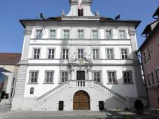 Rathaus der Stadt
