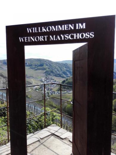 Blick zurück Richtung Mayschoß