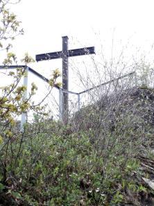 Das Schwarze Kreuz in der Nähe des Teufelslochs