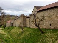 Stadtmauer am Ortseingang