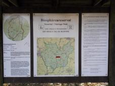 Infotafle zum Biosphärenreservat