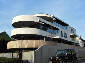 Moderne Architektur am Lahnberg
