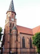 Die Dorfkirche von Dömitz