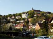 Das Kloster Frauenberg auf einem Hügel oberhalb der Altstadt