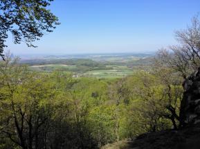 Blick von der Milseburg nach Süden